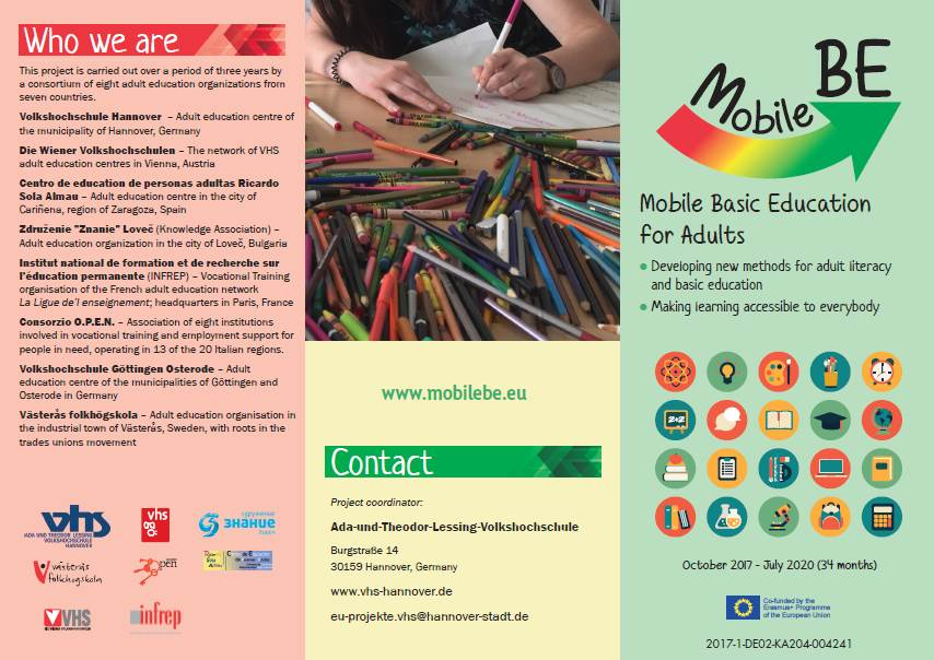 MobileBE Leaflet in English, Page 1